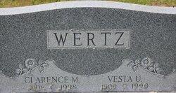 Clarence M Wertz