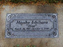 """Miyeko """"Mae"""" Ishihara"""
