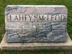 Mary Elizabeth <I>McLeod</I> Lahey