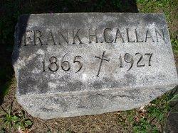 Frank H Callan