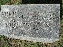 Fred A Callan