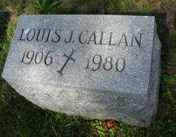 Louis J Callan