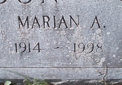 Marian Antoinette <I>Chandler</I> Dundon