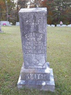 """Susan Salina """"Tiny"""" <I>McBrayer</I> Keith"""