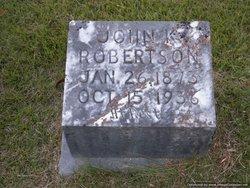 John K Robertson