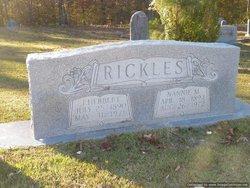 Nannie M <I>Murray</I> Rickles