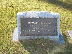 Thomas F Rickles