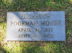 Elizabeth <I>Poorman</I> Moore