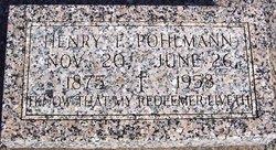 Henry F. Pohlmann