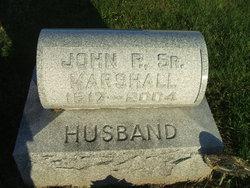 John P Marshall, Sr