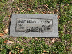 Mary <I>Bedford</I> Land