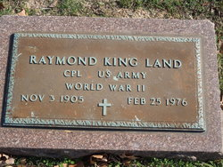 Raymond King Land