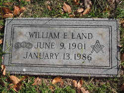 "William E ""Willie"" Land"
