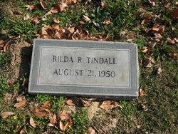 Rilda <I>Rowland</I> Tindall