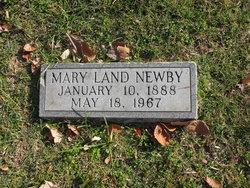 Mary <I>Land</I> Newby