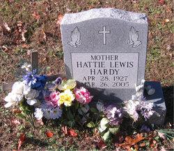 Hattie <I>Lewis</I> Hardy