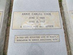 Annie <I>Cargill</I> Cook