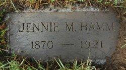 Jennie May <I>Fisk</I> Hamm