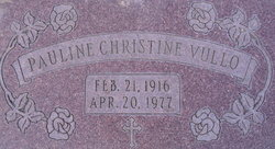 Pauline Christine Vullo