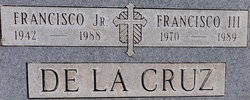 Francisco De La Cruz, III