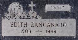 "Edith ""DeDee"" Zancanaro"