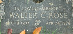 Walter C Rose