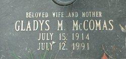 Gladys M McComas