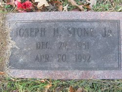 Joseph H Stone, Jr