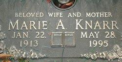 Marie A Knarr