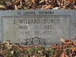 J Willard Burch