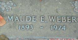 Maude E Weber