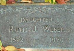 Ruth J Weber