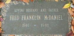 Fred Franklin McDaniel