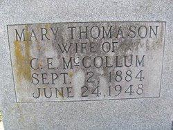 Mary Araminta <I>Thomason</I> McCollum