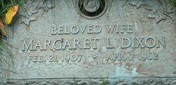 Margaret L Dixon