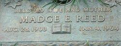 Madge E Reed