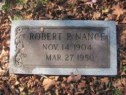 Robert P Nance