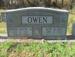Ruby M <I>Seay</I> Owen