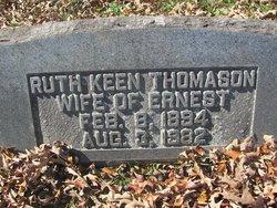 Ruth <I>Keen</I> Thomason