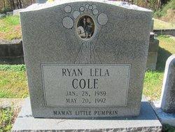 Ryan Lela Cole