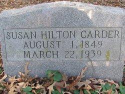 Susan <I>Hilton</I> Carder