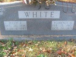 Zollie E White