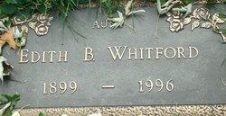 Edith B Whitford
