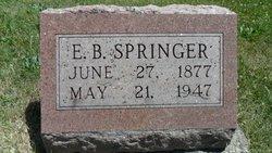 Edgar B Springer