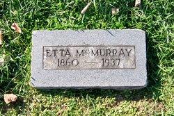 """Henrietta J """"Etta"""" <I>Hunt</I> McMurray"""