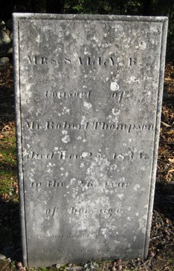 Sally Bartlett <I>Lyman</I> Thompson