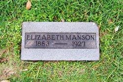 Nancy Elizabeth <I>Hunt</I> Manson
