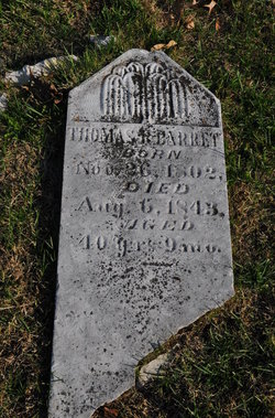 Thomas Rutherford Barrett