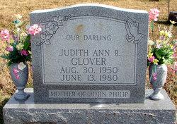 "Judith Ann ""Judy"" <I>Robinson</I> Glover"