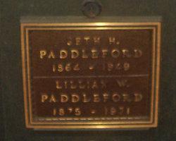 """Lillian Cook """"Lydia"""" <I>Woodworth</I> Paddleford"""